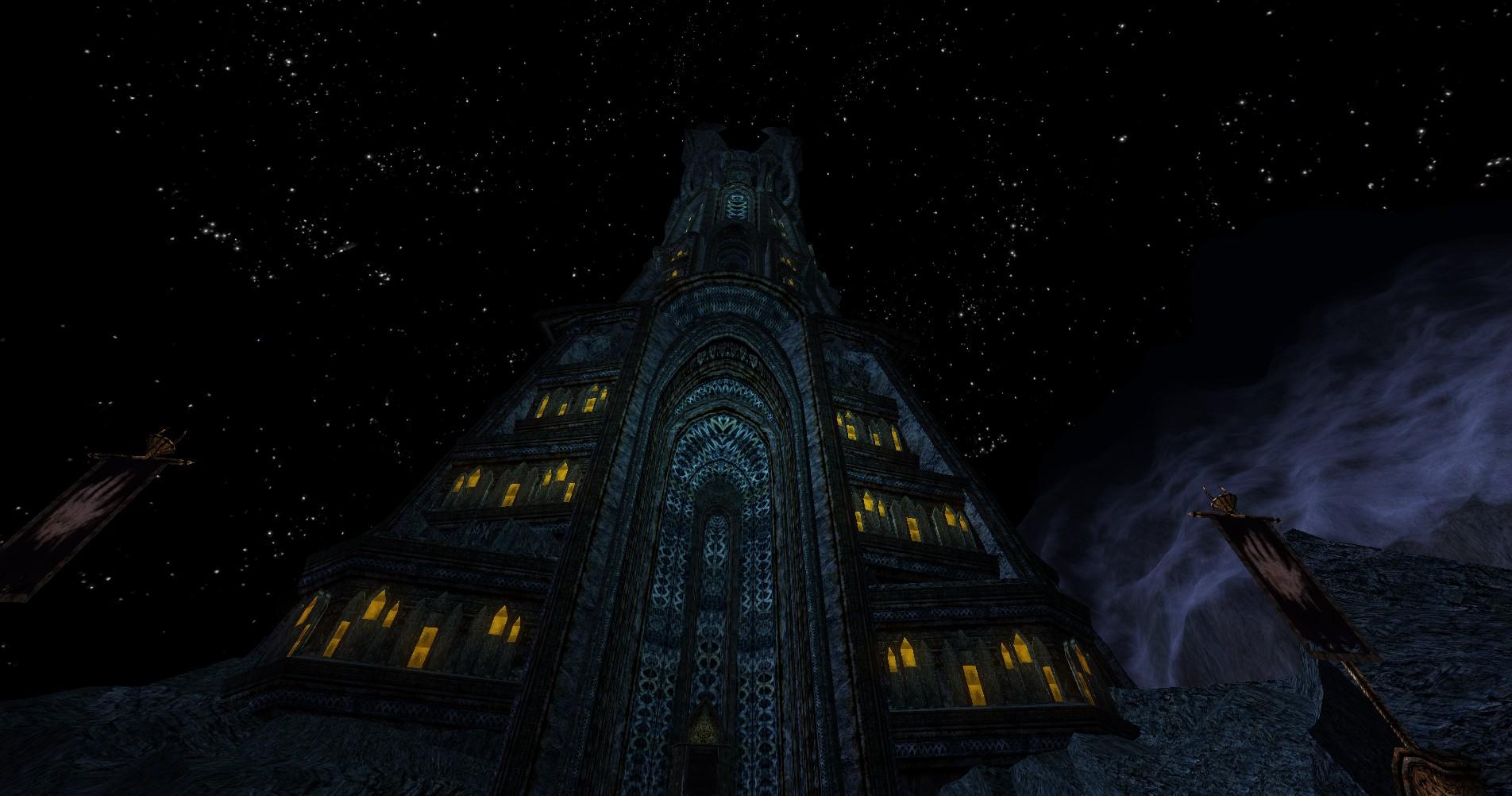 Tower of Orthanc - slušivé exteriéry