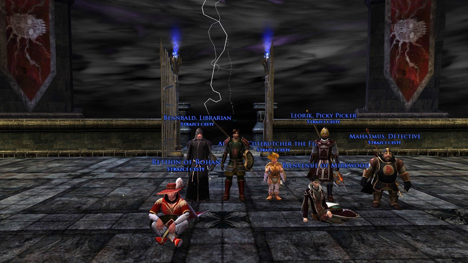 Barad Guldur: Po čtyřech hodinách jsme se probojovali na vrchol věže a dali na frak kapitánovi nazgůlů!