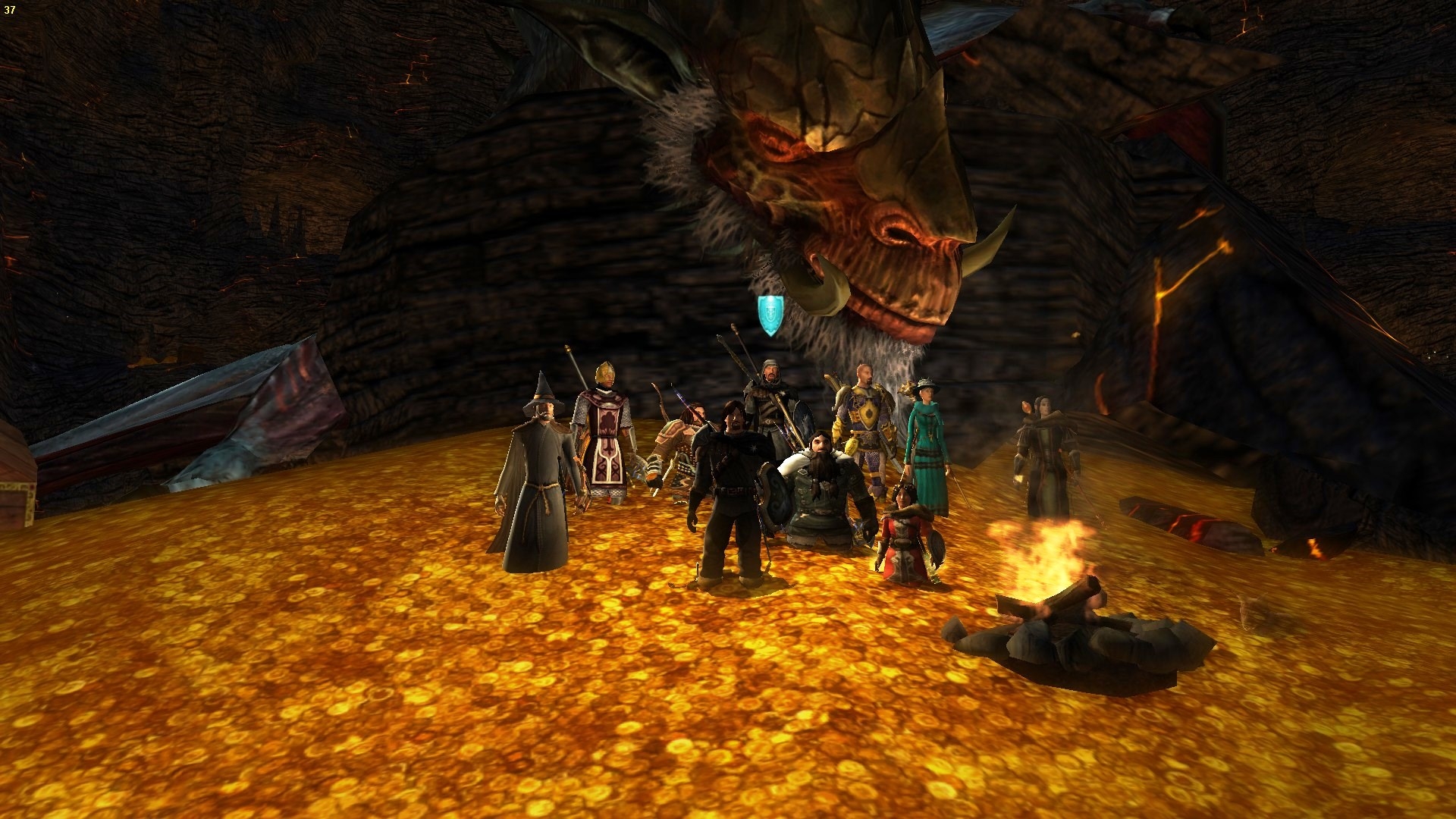 Tak jsme ho zdolali, Draigocha, teď se můžeme válet v jeho penězích:)