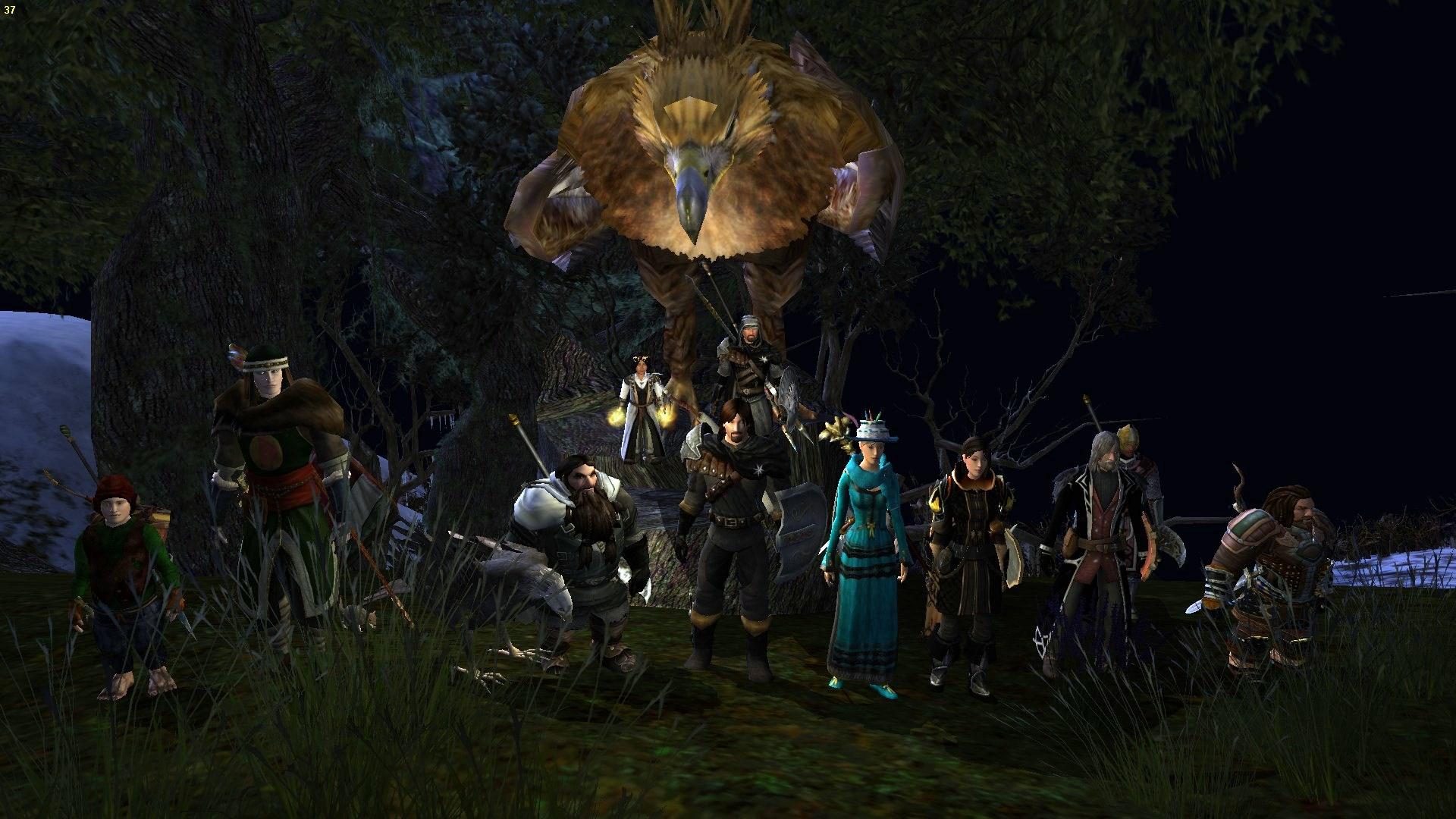 Tower of Orthank - Saruman: Hlavní tank (ehm...tedy já) byl sice shozen z věže, ale zbytek party nakonec úspěšně dobil všechny Sarumanovi klony:)