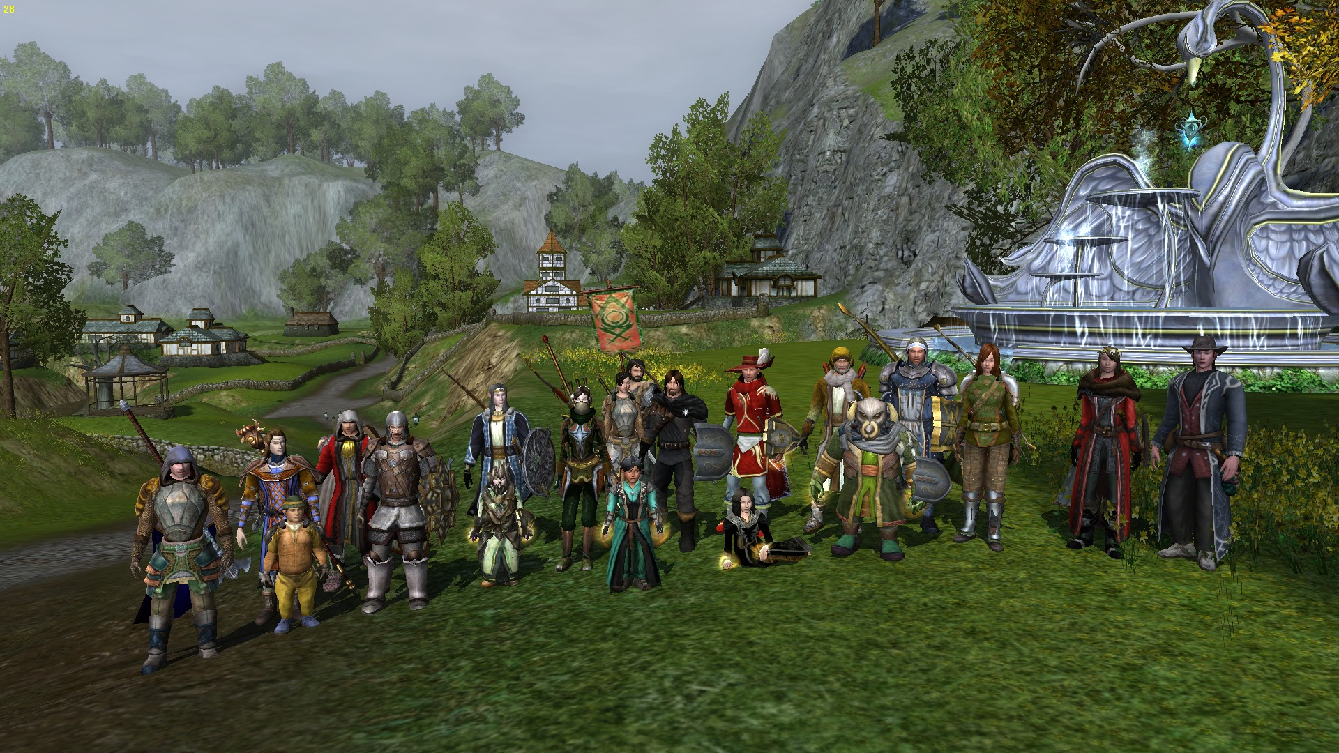 Ať žije náš nový leader Rethon (pán uprostřed v červeném) a my všichni s ním:)