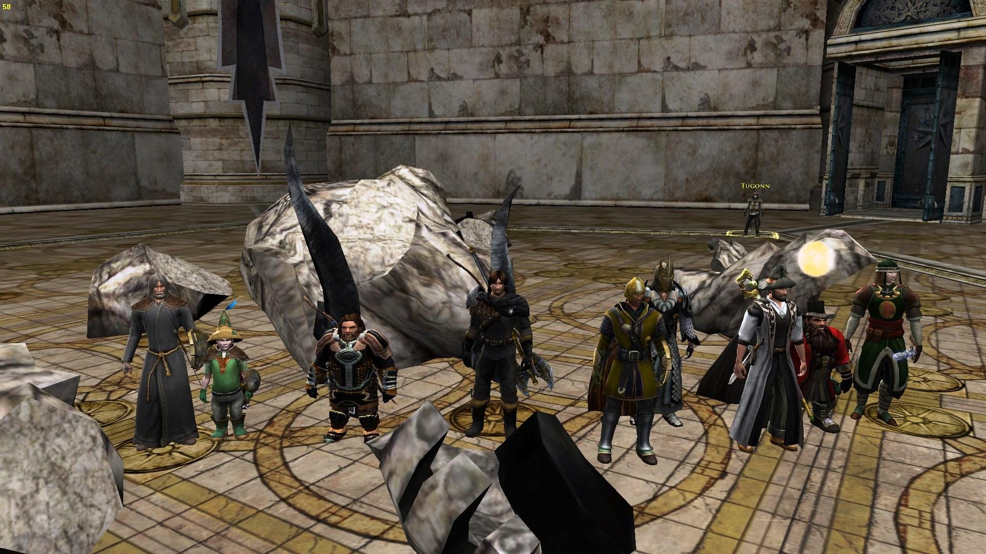 S pomocí kamaráda Sniferika jsme se poprvé probojovali všemi třemi raidy v Ost Dunhoth:)