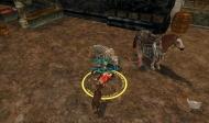 Válení se s kinleaderkou u brány v Minas Thirit