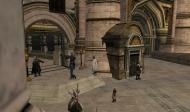 Dorazili sme pred vstup na nádvorie bieleho stromu... ďalej odprevadia Lsoniu pred Denethora stráže citadeli.