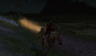 Hurá prvá jazda na Heavy War-steede, a za mnou dym a čiara...